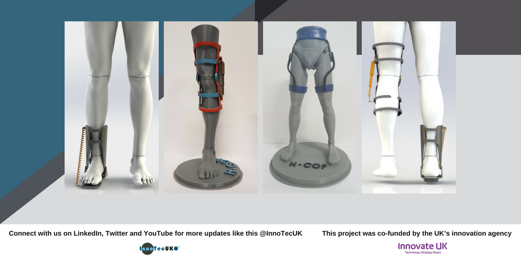 Project Update: H-COP – Pleased to announce the successful completion H-COP, an innovative project aimed at revolutionising orthopaedics and prosthetics through human-centred design